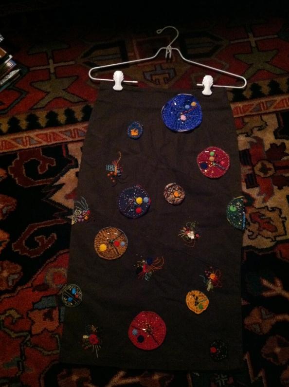 I am designing a skirt