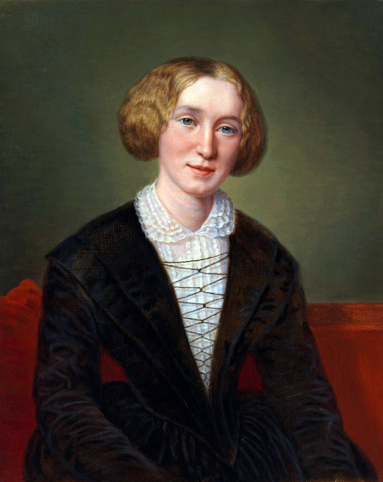 George Eliot, circa 1849